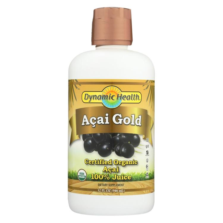 Dynamic Health Organic Acai Gold - 32 fl oz