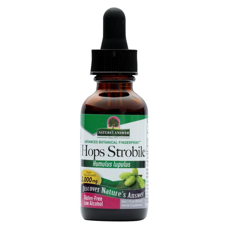 Nature's Answer - Hops Strobile Extract - 1 fl oz