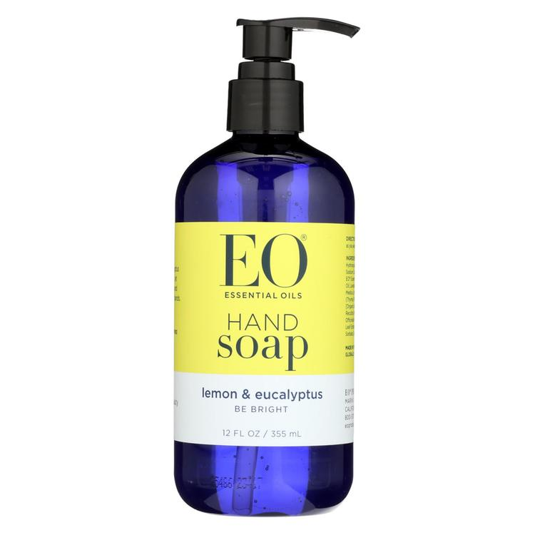 EO Products - Liquid Hand Soap Lemon and Eucalyptus - 12 fl oz