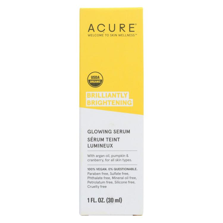 Acure - Serum - Firming Facial - 1 fl oz
