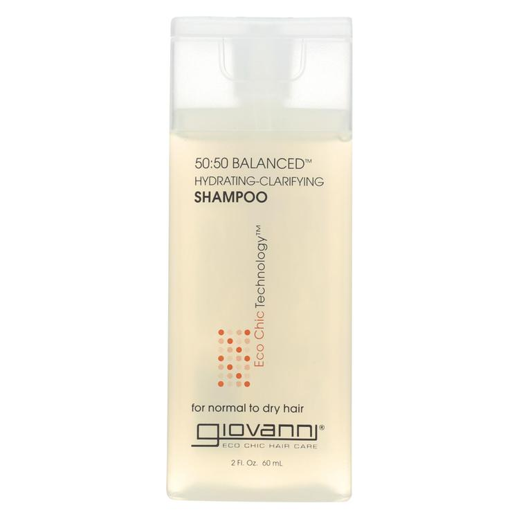 Giovanni Hair Care Products 50/50 Balanced Shampoo - Case of 12 - 2 fl oz