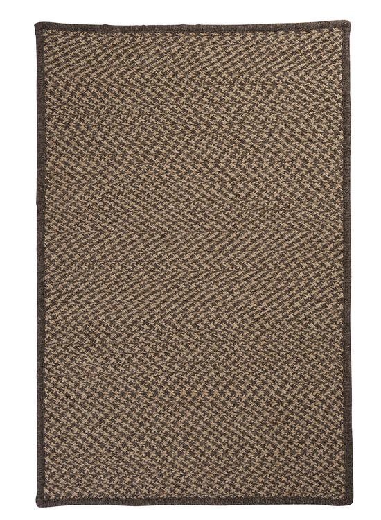 Colonial Mills Natural Wool Houndstooth - Caramel 8'x11' Rectangle Area Rug