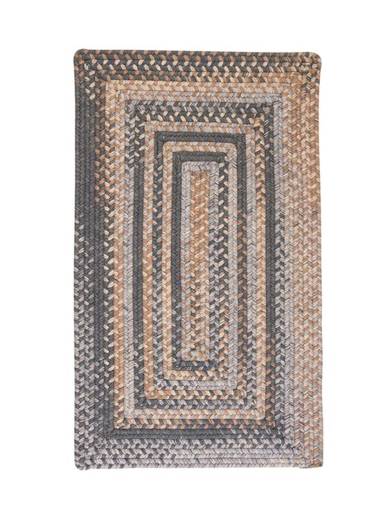 Colonial Mills Home Decor Gloucester - Graphite 4'x6' Rectangle Rug