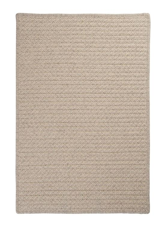 Colonial Mills Floor Decor Natural Wool Houndstooth Cream 2'x4' Rectangle Rug