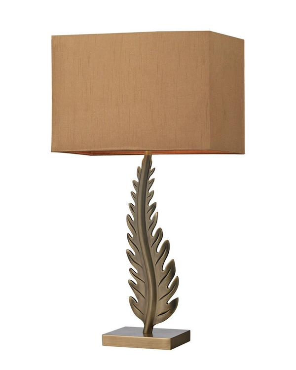 Dimond Lighting Home Decorative Oak Cliff Solid Brass LED Table Lamp in Aged Brass