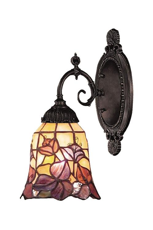Mix-N-Match 1 Light LED Wall Sconce In Tiffany Bronze - 071-TB-17-LED
