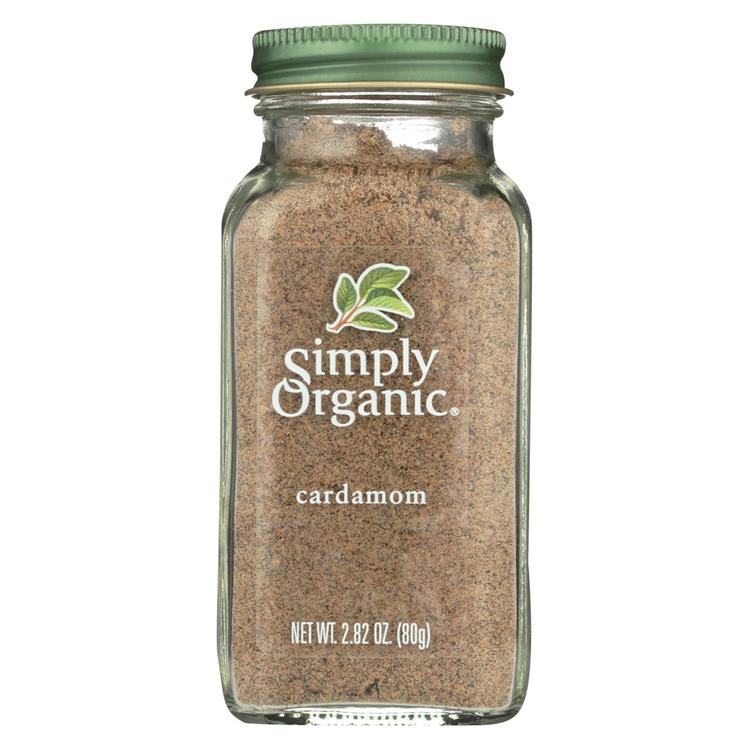 Simply Organic Cardamom - Case of 6 - 2.82 oz.