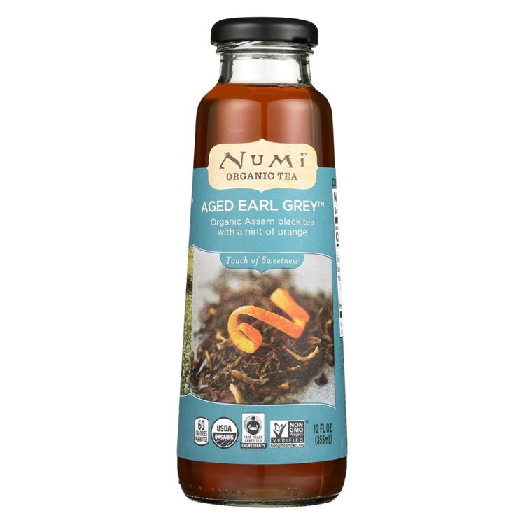 Numi Tea Tea - Organic - Aged Early Grey - Case of 12 - 12 fl oz