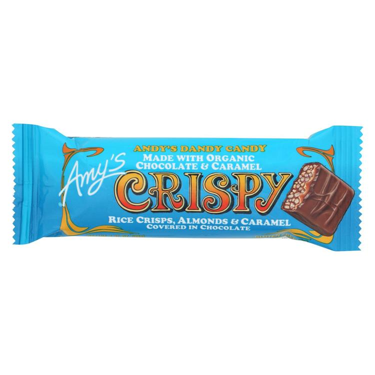Amy's - Candy Bar Crispy - Case Of 12 - 1.35 Oz