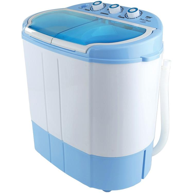 Pyle Home PUCWM22 Compact and Portable Washer and Spin Dryer