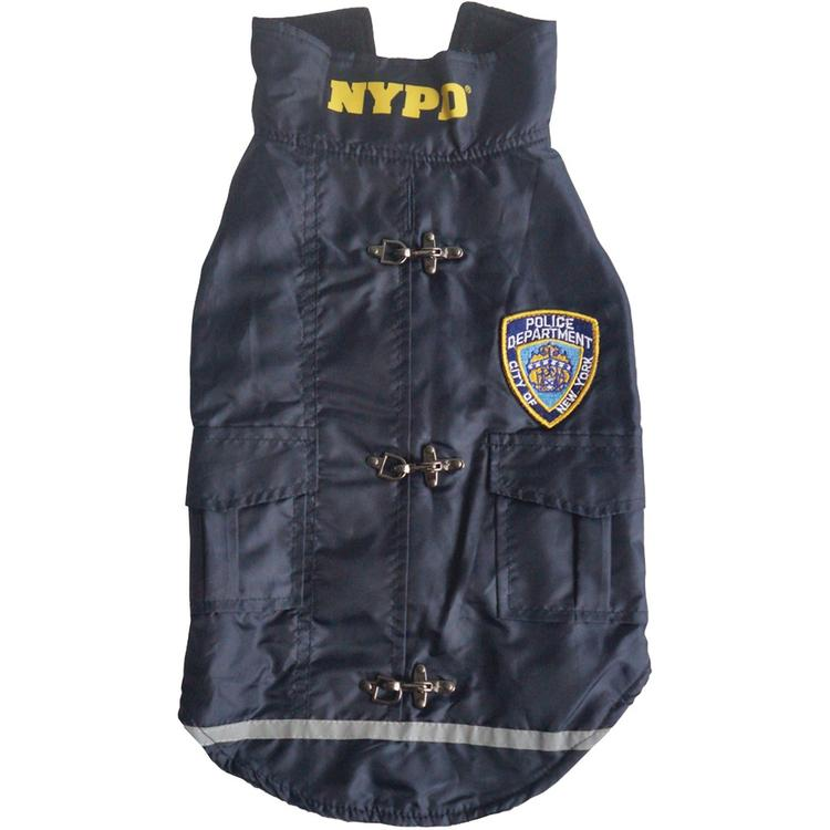 Royal Animals 13Z1009R NYPD Water-Resistant Dog Coat (Small)