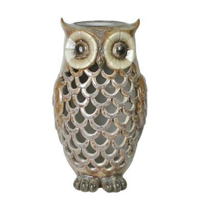 MR Owl Solar Light Tan