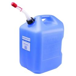 Midwest Can 6 Gallon Water Jug Container with Spout (No Fuel Storage)