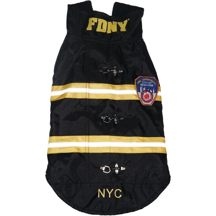 Royal Animals 13Z1010R FDNY Water-Resistant Dog Coat (X-Small)