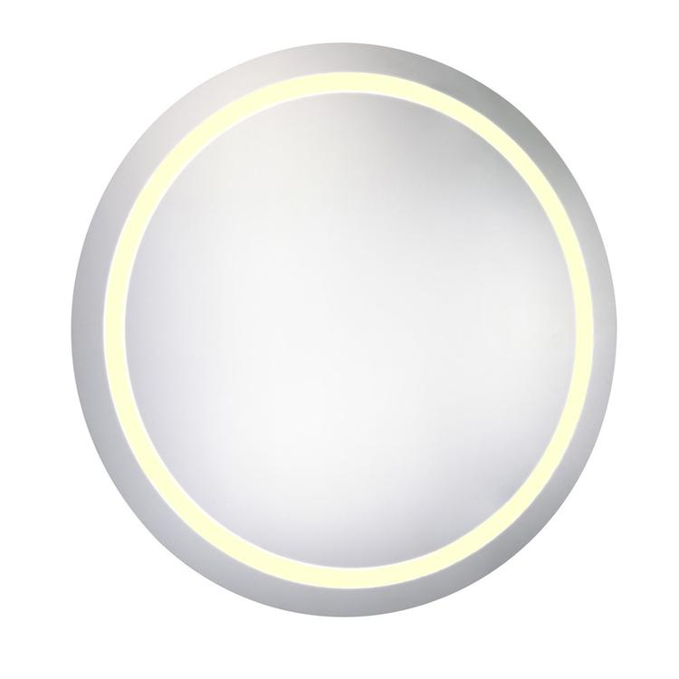 """Elegant Lighting LED Electric Mirror Round 30""""D Dimmable 3000K"""
