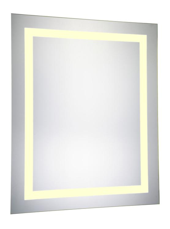"""Elegant Lighting LED Electric Mirror Rectangle 24""""W x 30""""H Dimmable 3000K"""