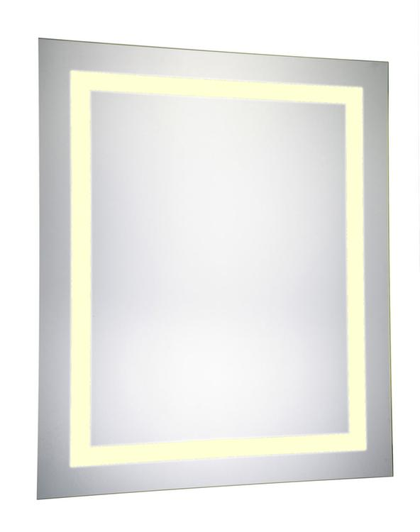 """Elegant Lighting LED Electric Mirror Rectangle 20""""W x 30""""H Dimmable 3000K"""