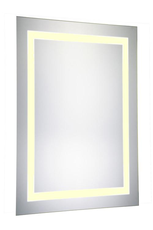 "Elegant Lighting LED Electric Mirror Rectangle 20""W x 40""H Dimmable 3000K"