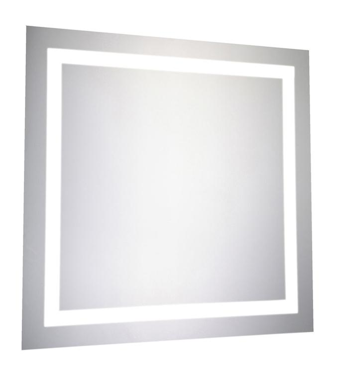 """Elegant Lighting LED Electric Mirror Square W28"""" H28"""" Dimmable 5000K"""