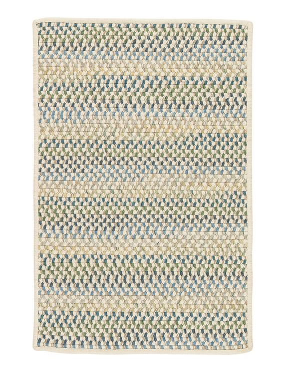 Colonial Mills Chapman Wool Peacock Blue 4'x6' Rectangle Area Rug