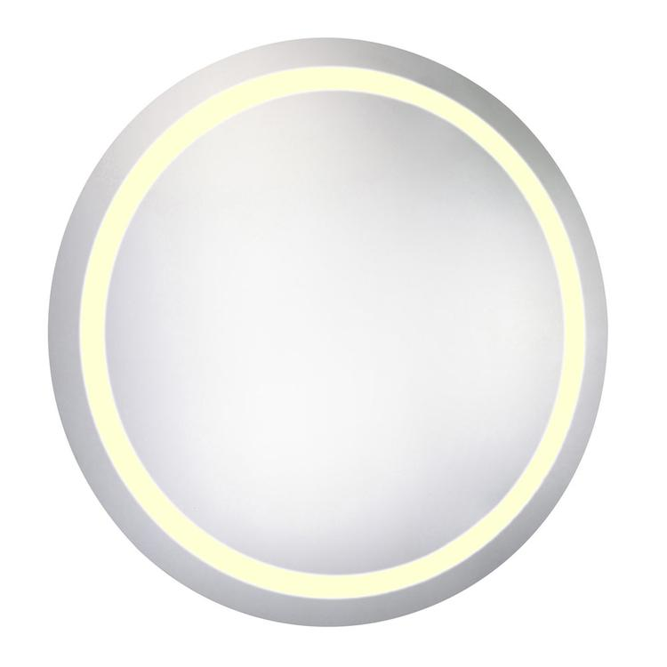 """Elegant Lighting LED Electric Mirror Round 42""""D Dimmable 3000K"""