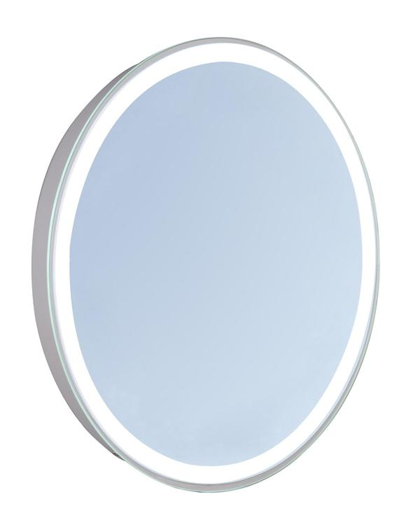 "Elegant Lighting 4 Sides LED Edge Electric Mirror Oval 23""W x 30""H Dimmable 5000K"