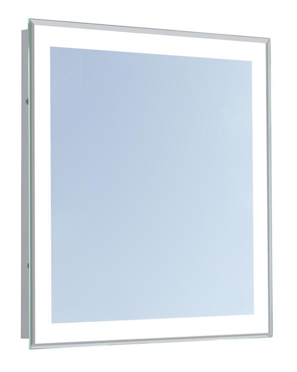 "Elegant Lighting 4 Sides LED Edge Electric Mirror Rectangle 20""W x 30""H Dimmable 5000K"