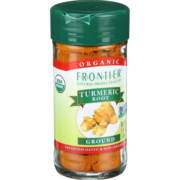 Frontier Herb - Organic Turmeric Root Ground ( 2 - 1.41 OZ)