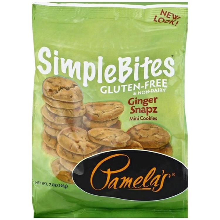 Pamela's Products - Simple Bites Ginger Cookies ( 6 - 7 oz bags)