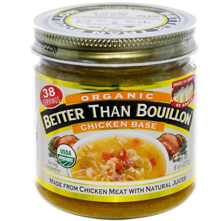 Better Than Bouillon - Organic Chicken Base ( 6 - 8 oz jars)