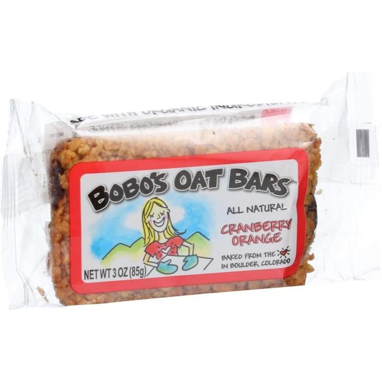 Bobo's Oat Bars - All Natural Cranberry Orange Oats Bar ( 12 - 3 OZ)