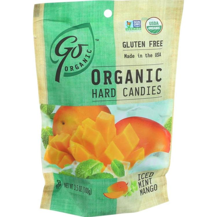 Go Organic - Mint Mango Hard Candy ( 6 - 3.5 OZ)