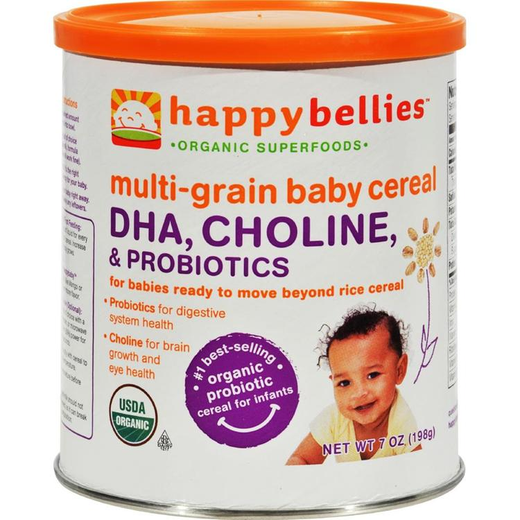 Happy Family - Dha Pre And Probiotics Plus Choline Organic Multigrain Cereal ( 6 - 7 OZ)