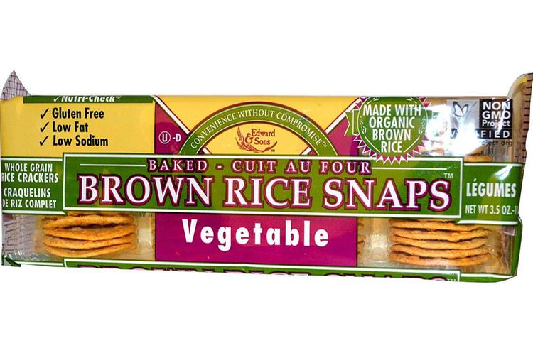 Edward & Sons - Brown Rice Snaps Vegetable ( 12 - 3.5 OZ)