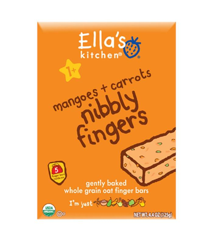 Ella's Kitchen  - Mangoes & Carrots Nibbly Fingers ( 12 - 4.4 OZ)
