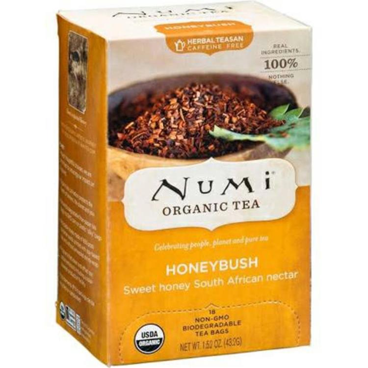 Numi Tea - Honeybush Bushman Brew Tea ( 6 - 18 BAG)