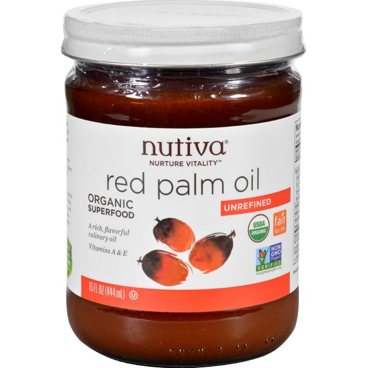 Nutiva - Red Superfood Organic Palm Oil ( 6 - 15 FZ)