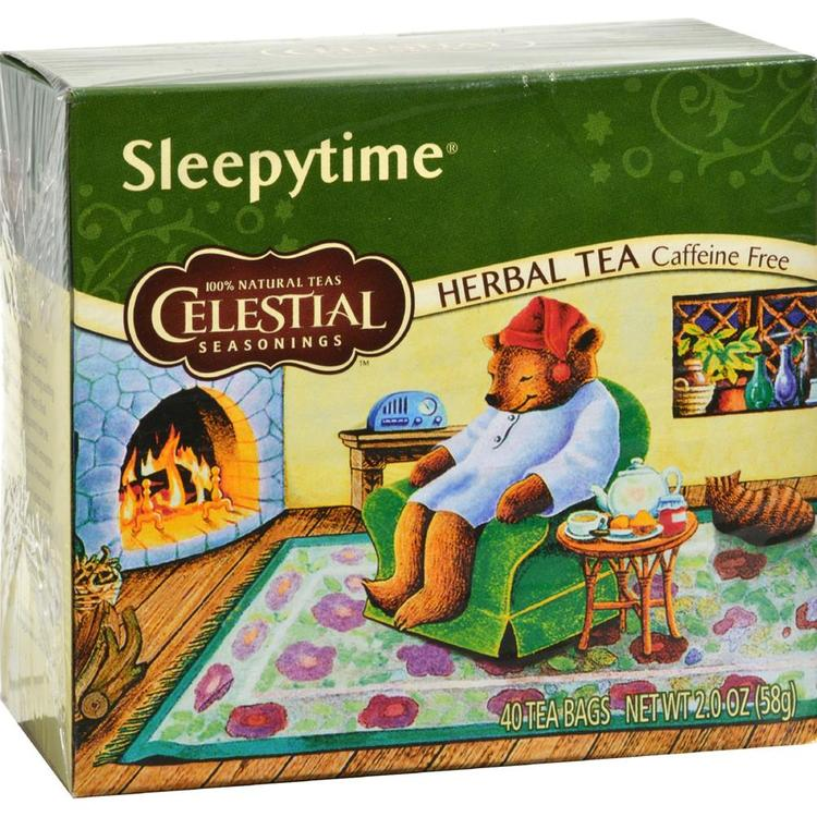 Celestial Seasonings - Caffeine Free Sleepytime Herbal Tea ( 6 - 40 BAG)