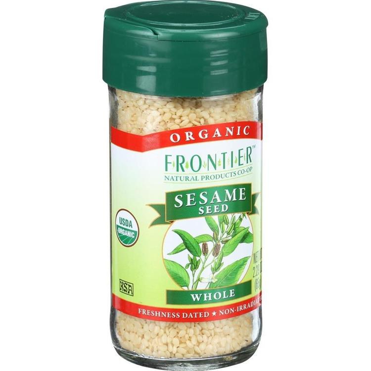 Frontier Herb - Organic Hulled Whole Sesame Seed ( 4 - 2.32 OZ)