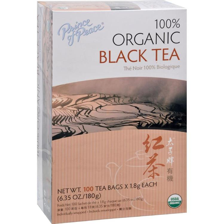 Prince of Peace - Organic Black Tea ( 2 - 100 BAG)