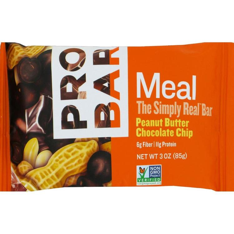 Probar - Peanut Butter Chocolate Chip Meal Bar ( 12 - 3 OZ)