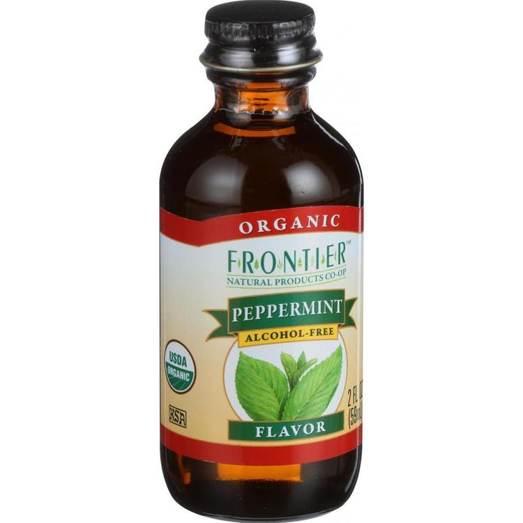 Frontier Herb - Alcohol Free Organic Peppermint Flavor ( 2 - 2 OZ)