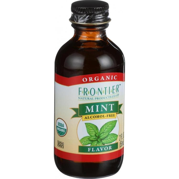 Frontier Herb - Alcohol Free Organic Mint Flavoring ( 2 - 2 OZ)