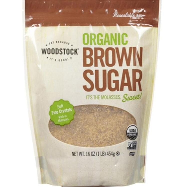 Woodstock Farms - Organic Brown Sugar ( 12 - 16 OZ)