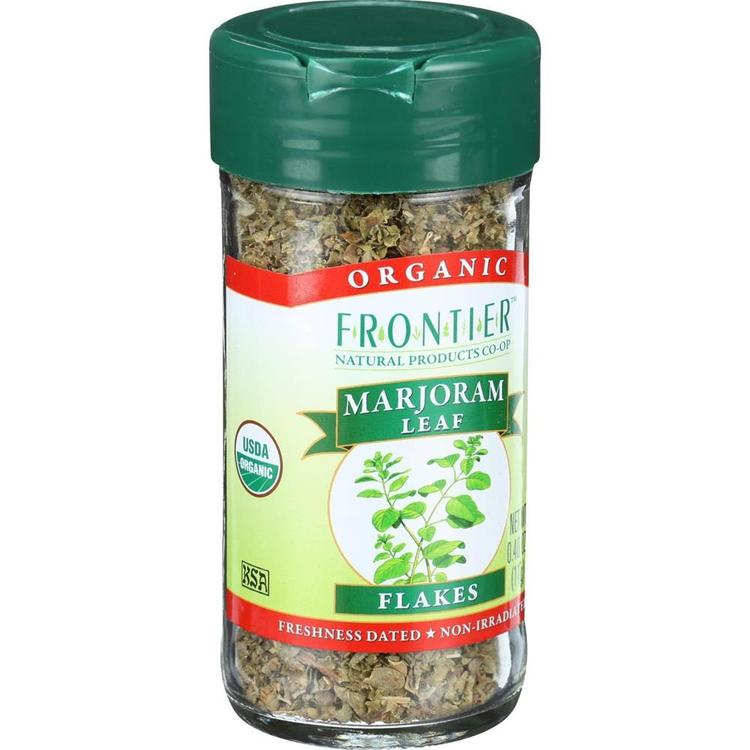 Frontier Herb - Organic Cut And Sifted Marjoram Leaf ( 4 - .40 OZ)