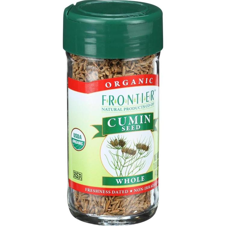 Frontier Herb - Organic Whole Cumin Seed ( 2 - 1.68 OZ)