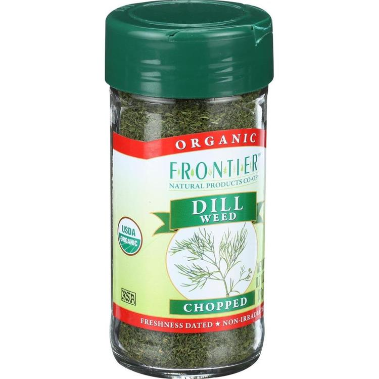 Frontier Herb - Organic Chopped Dill Weed ( 2 - .71 OZ)