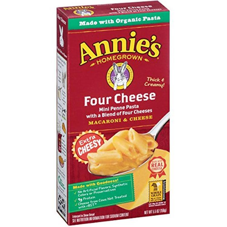 Annie's Homegrown - Four Cheese Mac And Cheese ( 12 - 5.5 oz boxes)