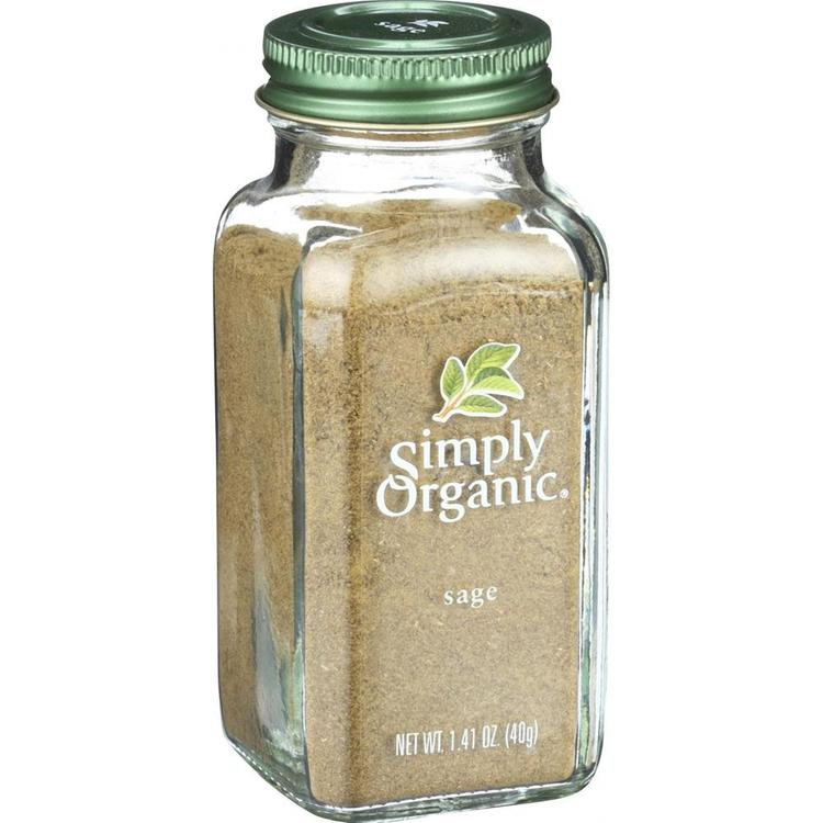 Simply Organic - Ground Sage ( 2 - 1.41 OZ)