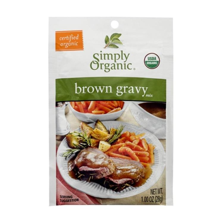 Simply Organic - Brown Gravy Mix ( 12 - 1 oz packets)